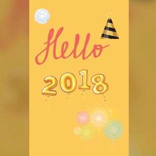 Hello, 2018!!! 🎉