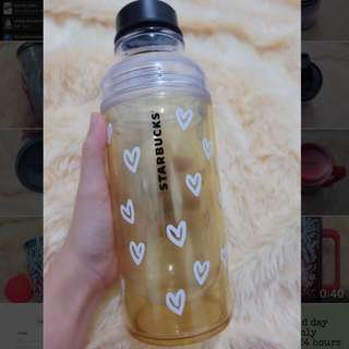 Tumbler starbucks yellow