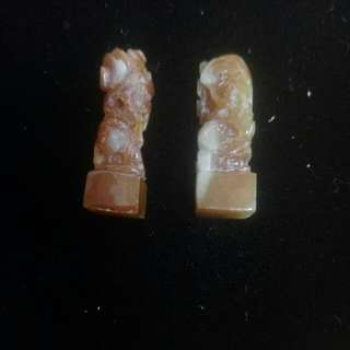 🚚 蜜糖石獅子(2個)