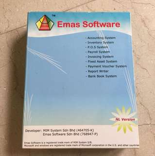 Accounting System Emas