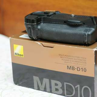 Nikon D300s / D300 battery grip BG