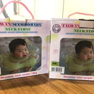 Infant neck float Green