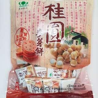 ✈大玩台灣代購✈昇田桂圓麥芽糖餅500g