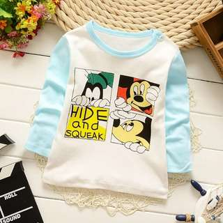 Children Long Sleeve Shirt