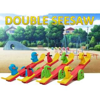ROCKING DOUBLE SEESAW