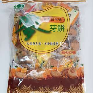 ✈大玩台灣代購✈昇田綜合麥芽糖餅500g
