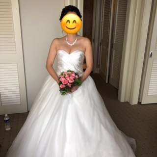 Wedding gown for sale - Cheap!