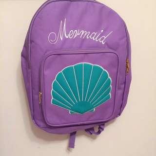 🚚 美少女系列-紫色貝殼後背包NEW