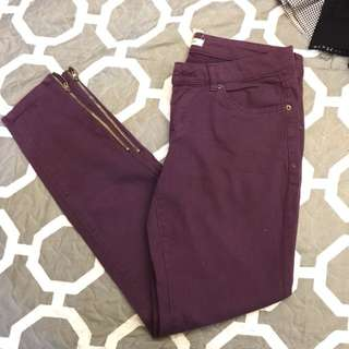 Forever 21 Purple Pants