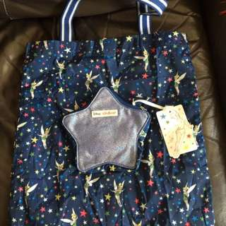 Cath Kidston Tinker Bell Starry night tote bag