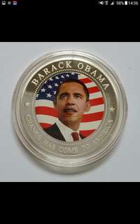 Barrack obama coin