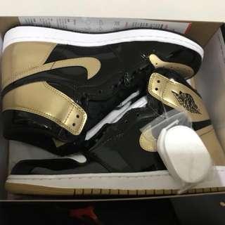 Nike Jordan 1 og Nrg Gold Top 3