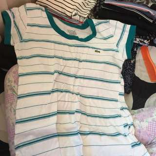 Lacoste Inspired Stripes
