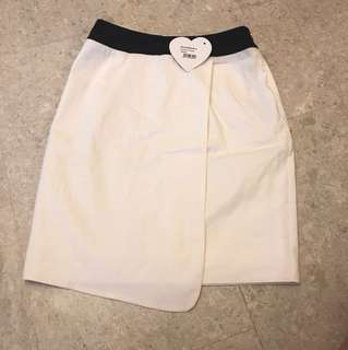 BNWT Love Bonito white Skirt