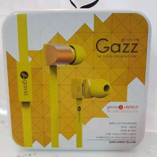 Gavio New Gruuve Gazz Earphones
