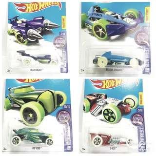 Hotwheels Glow Wheels Lot (8)