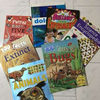 Children's science reference books