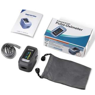 (BNIB) GHB Pulse Oximeter Finger Blood Oxygen Saturation Monitor SpO2 with OLED Display (Brand New Boxed)