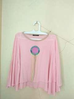 Dreamcatcher Top Pink