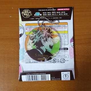 Haikyuu Hinata Acrylic Ball Mascot keychain