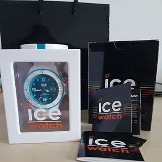 《NEW》Ice Watch White & Turquoise - Big (AUTHENTIC) #MidJan55