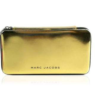 Marc jacobs parfums glossy cosmetic case(gold)