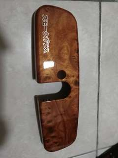 Rear view mirror panel walnut utk alza