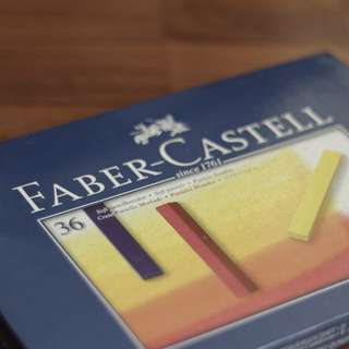 Faber-Castell Soft Pastel Crayons Set of 36 in Case