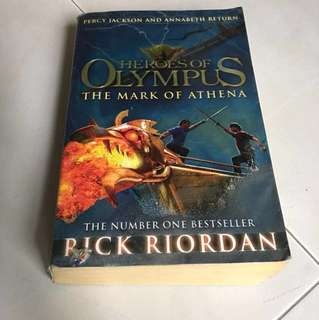 Heroes Of Olympus The Mark Of Athena by Rick riordan