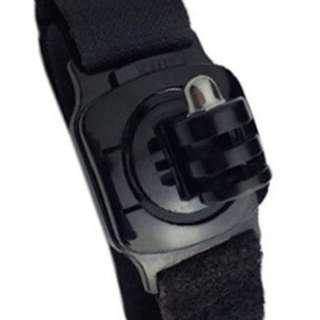 Action camera wrist band