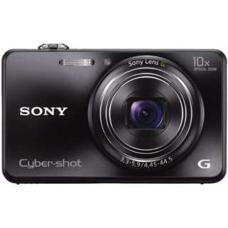 Sony Digital Camera (Black) With Cover