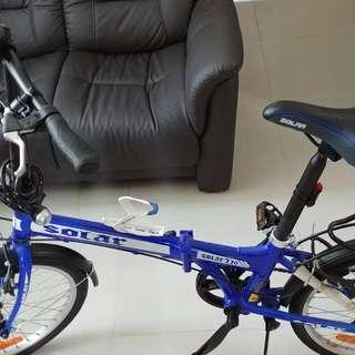 Solar 730 20寸 摺疊單車