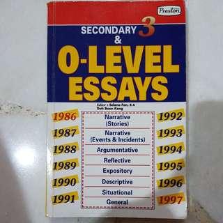 O levels essay
