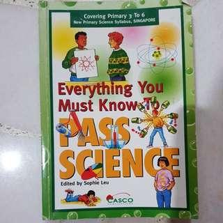 Pass science