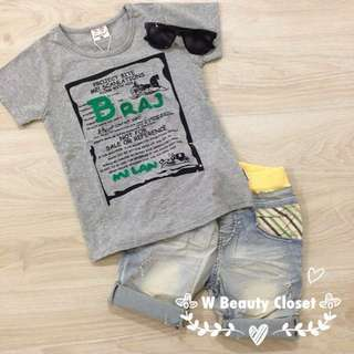 Clear Stock - Boy's Top & Pants