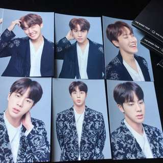 Ready Stock  2017 BTS Live Trilogy Episode III THE WINGS TOUR THE FINAL Official MD Mini Photocard J-HOPE JIN