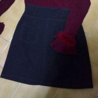 🚚 彈性牛仔包臀裙(一套買可議價