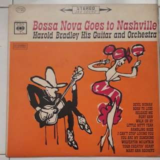 Bossa  Nova  Goes To Nashville Harold  Bradley  His Guitar And  Orchestra  Vinyl LP Record