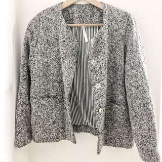 Tweed Jacket Grey
