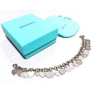 Tiffany & Co. 限量心形手鏈