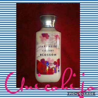 Bath and body works Japanese cherry blossom lotion 2018