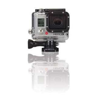 Go Pro Hero 3 black edition (slightly used)