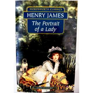 The Portrait of a Lady 淑女的画像  ✿◕‿◕✿  / Henry James〔Wordsworth Classics Book〕