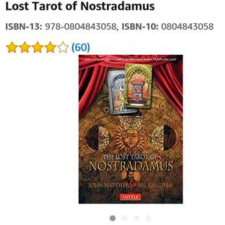 BN Lost Tarot Of Nostradamus