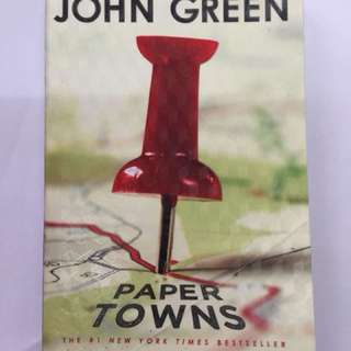 Paper Towns by John Green with cover