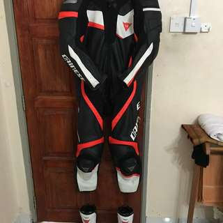 Dainese Veloster suit & TR Course boot