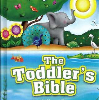 The Toddler's Bible.