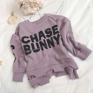 Korea style fashion baby girl sweater