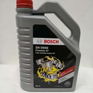 Bosch SN 5W40 fully synthetic Engine oil