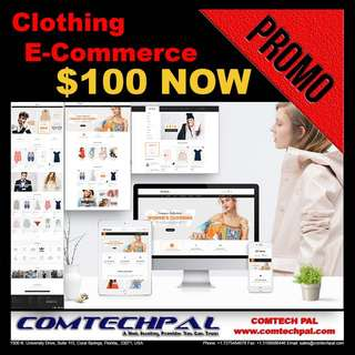 Clothing E-Commerce Website + Hosting